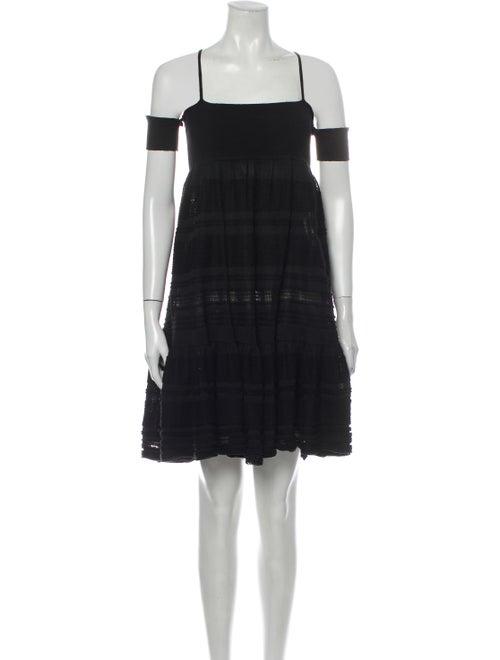 Chanel 2007 Mini Dress Black