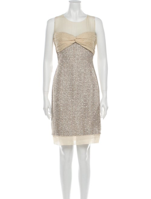 Chanel 2005 Mini Dress Brown