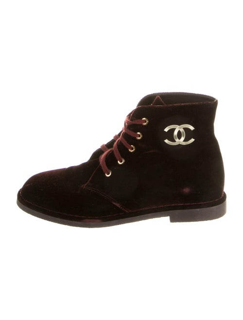 Chanel Lace-Up Boots
