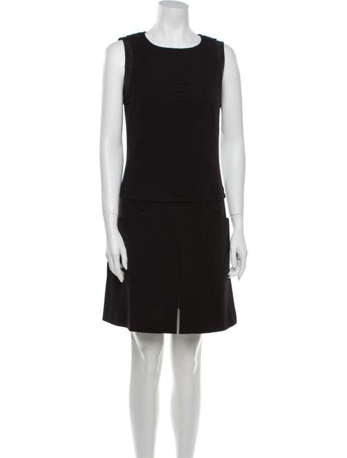 Chanel 2007 Mini Dress Wool