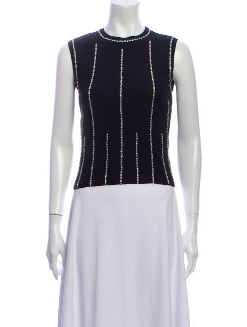 Chanel 2002 Cashmere Crop Top Black