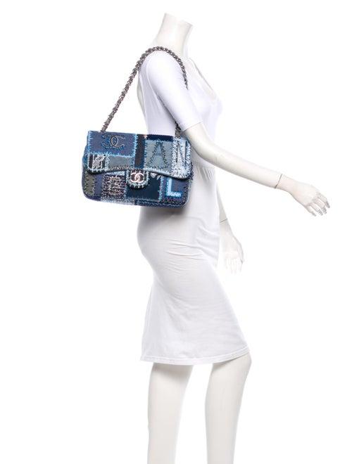 49a0e7344af4 Chanel Denim Patchwork Jumbo Flap Bag - Handbags - CHA50674 | The ...
