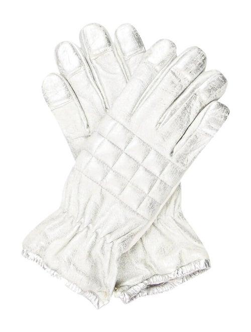 Chanel Sport Metallic Gloves Metallic