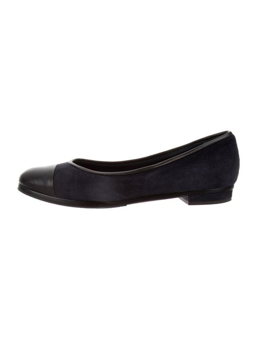 Chanel Suede Flats Blue
