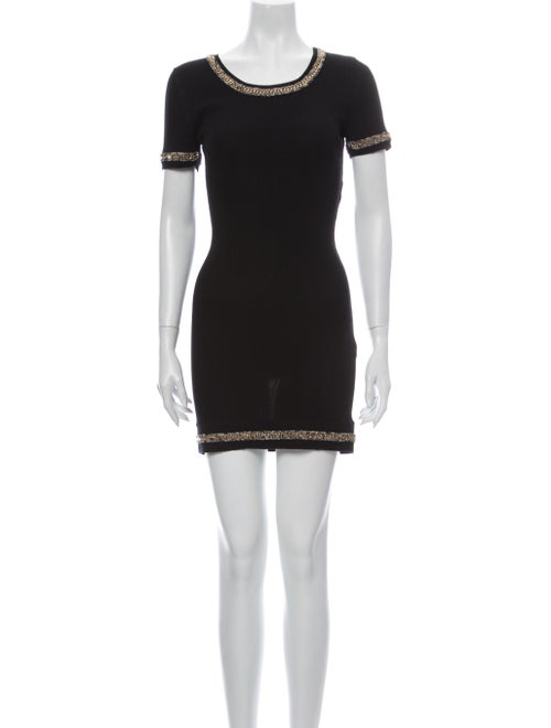 Chanel 2010 Mini Dress Black
