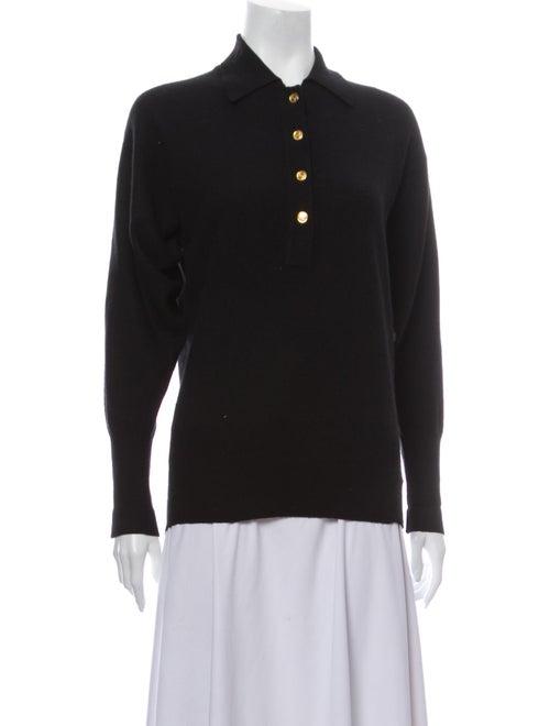 Chanel Vintage Cashmere Sweater Black