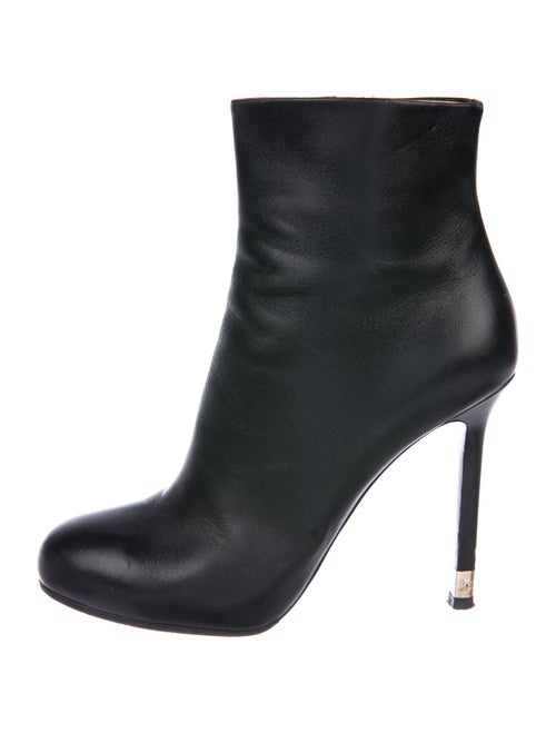 Chanel Boots Black