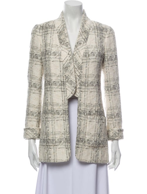 Chanel Tweed Pattern Blazer