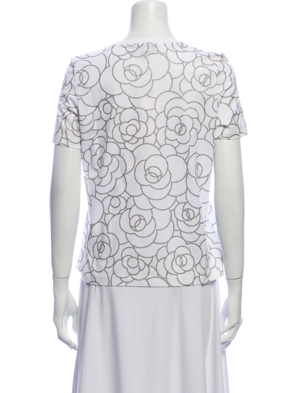 Chanel 2018 Coco Neige T-Shirt White - image 3