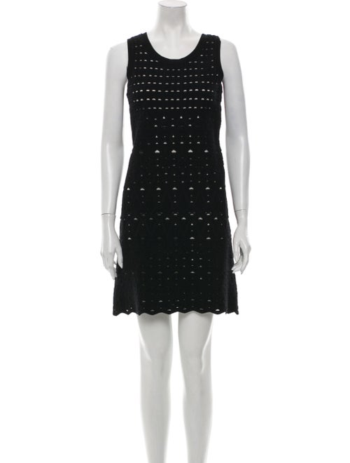 Chanel 2012 Mini Dress Black
