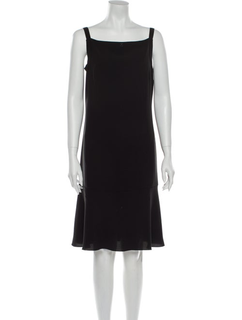 Chanel Vintage Mini Dress Black