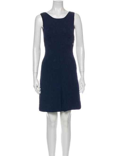 Chanel 2013 Mini Dress Blue