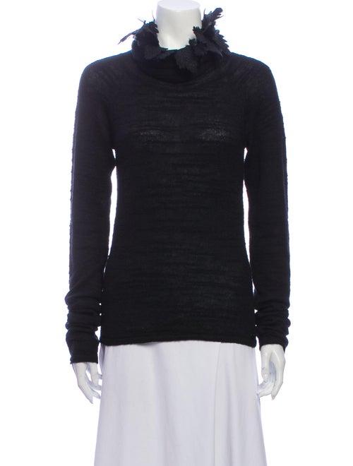 Chanel 2011 Turtleneck Sweater Black