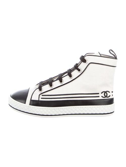Chanel 2019 Interlocking CC Logo Sneakers