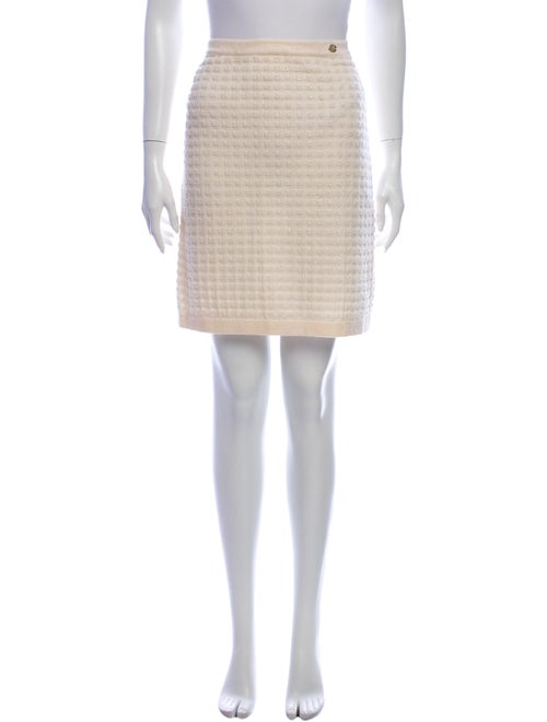 Chanel 2011 Knee-Length Skirt Metallic