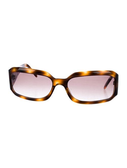 Chanel Strass CC Sunglasses Brown