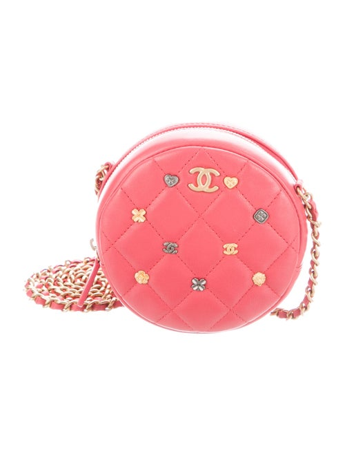 Chanel 18K Lucky Charms Crossbody Pink