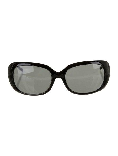 Chanel Strass CC Sunglasses Black
