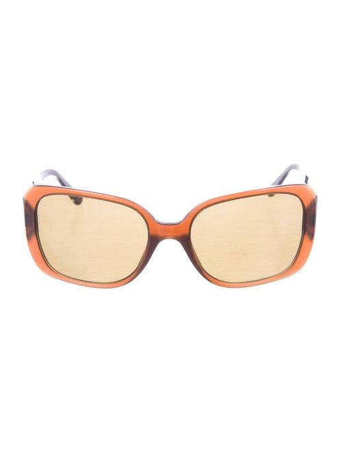 Chanel Square CC Sunglasses Brown