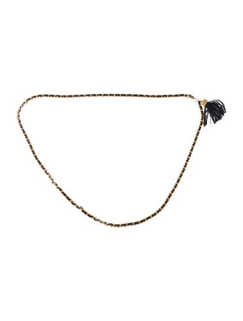Chanel Vintage Double Wrap Chain-Link Belt Gold