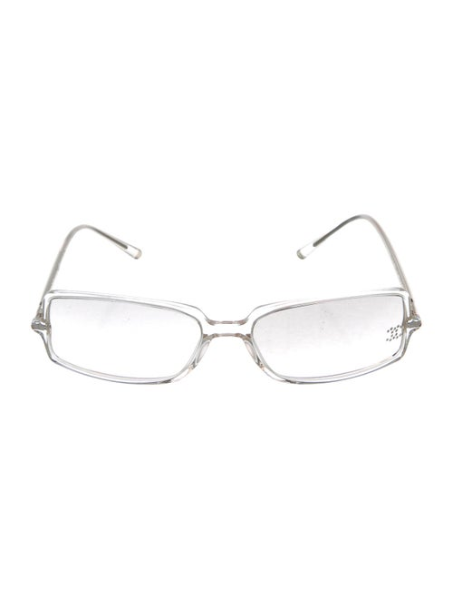 Chanel Strass CC Sunglasses Clear