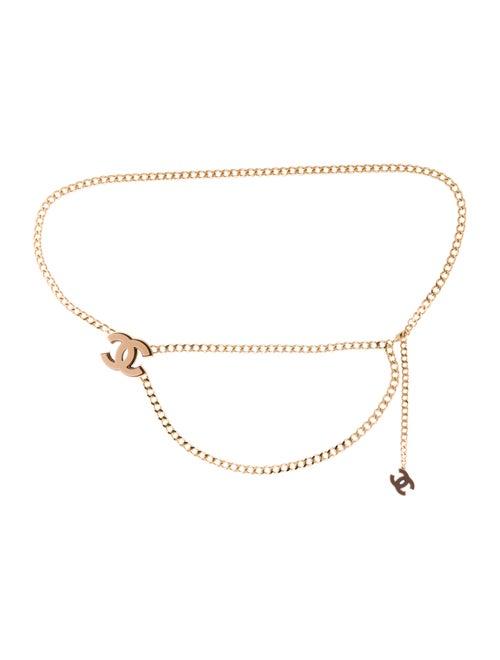 Chanel CC Chain-Link Belt Gold