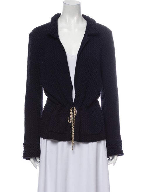 Chanel 2011 Sweater Blue