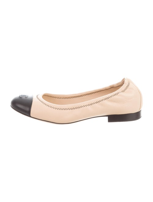 Chanel 2015 CC Ballet Flats Ballet Flats Black