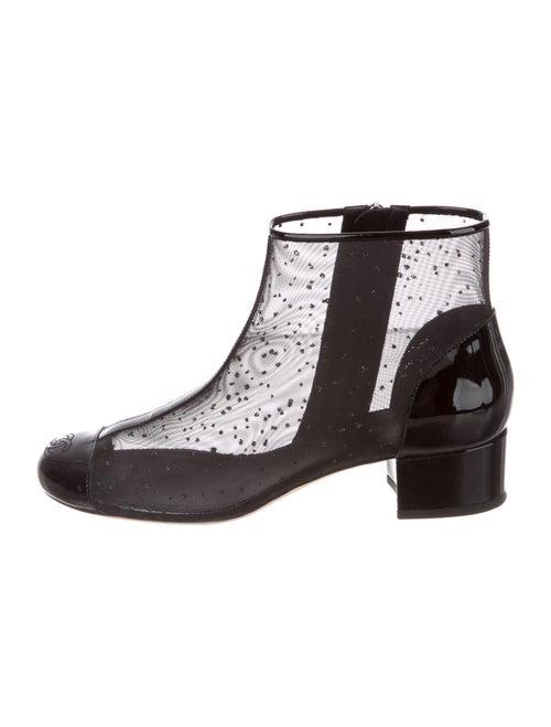 Chanel Chelsea Boots Black