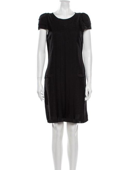 Chanel Vintage Knee-Length Dress Black