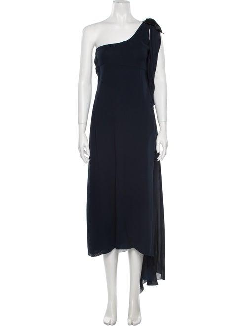 Chanel Vintage Knee-Length Dress Blue