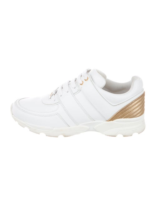 Chanel CC Low-Top Sneakers Sneakers White - image 1