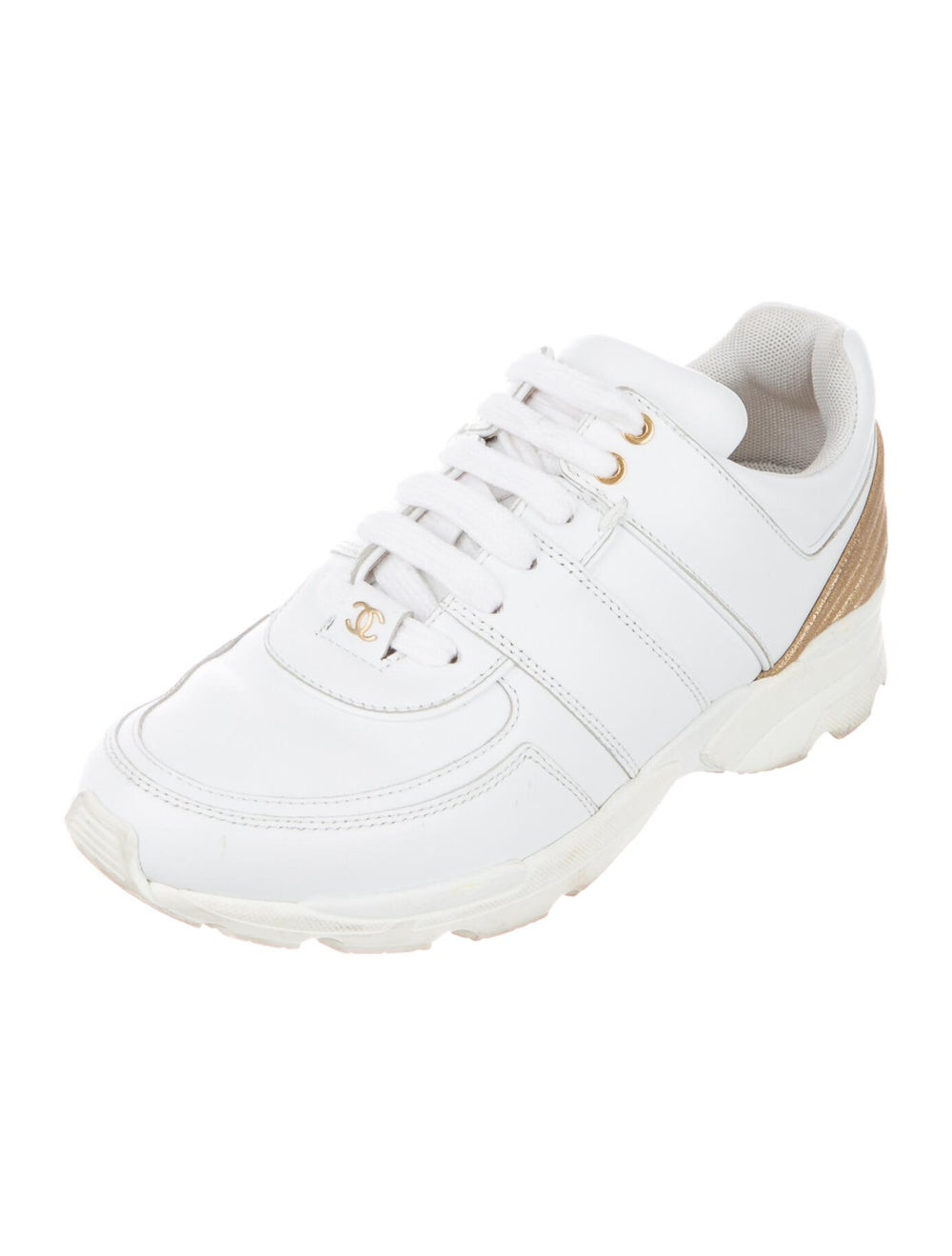 Chanel CC Low-Top Sneakers Sneakers White - image 2