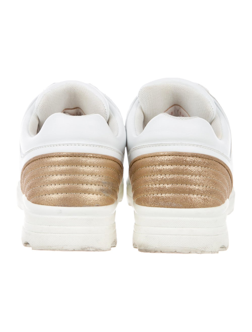 Chanel CC Low-Top Sneakers Sneakers White - image 4