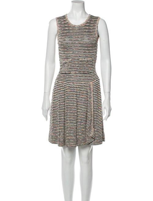Chanel 2011 Knee-Length Dress White