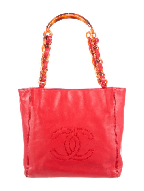 Chanel Vintage Timeless Tote gold