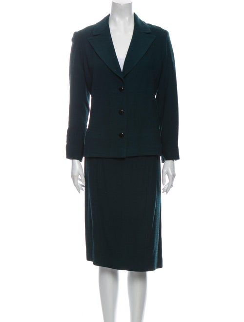 Chanel Vintage 1998 Skirt Suit Wool