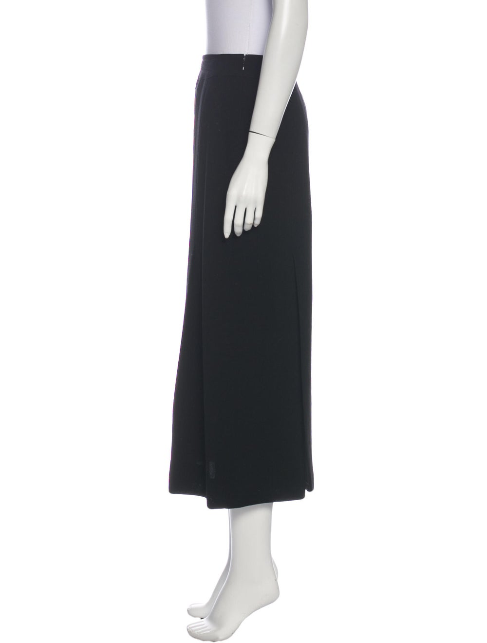 Chanel Vintage Midi Length Skirt Wool - image 2