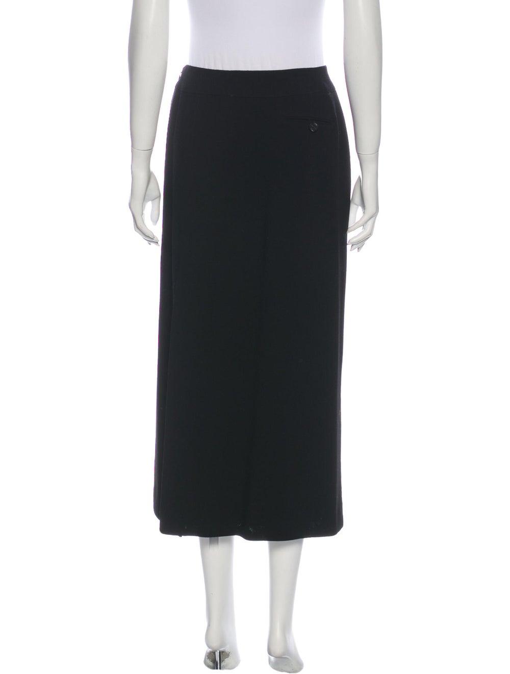 Chanel Vintage Midi Length Skirt Wool - image 3