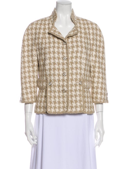 Chanel 2008 Silk Blazer