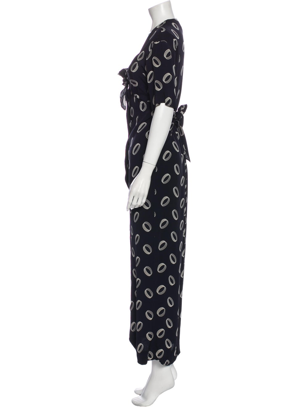 Chanel Vintage Long Dress Blue - image 2