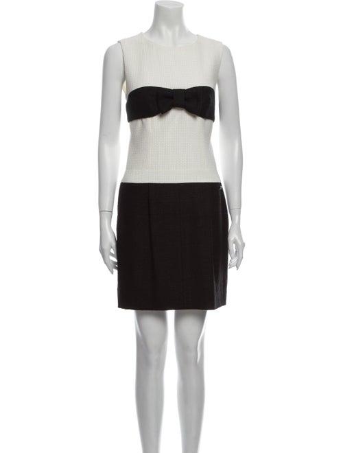Chanel 2009 Mini Dress White