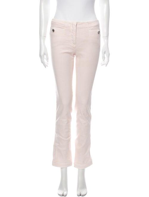 Chanel 2016 Straight Leg Pants Pink