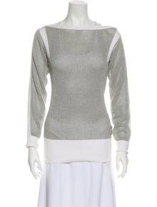 Chanel 2014 Bateau Neckline Sweater