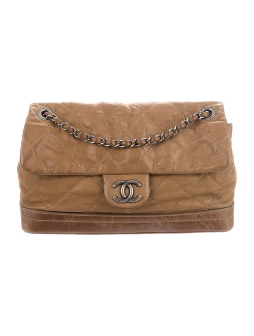 Chanel VIP Flap Bag Brown - image 1
