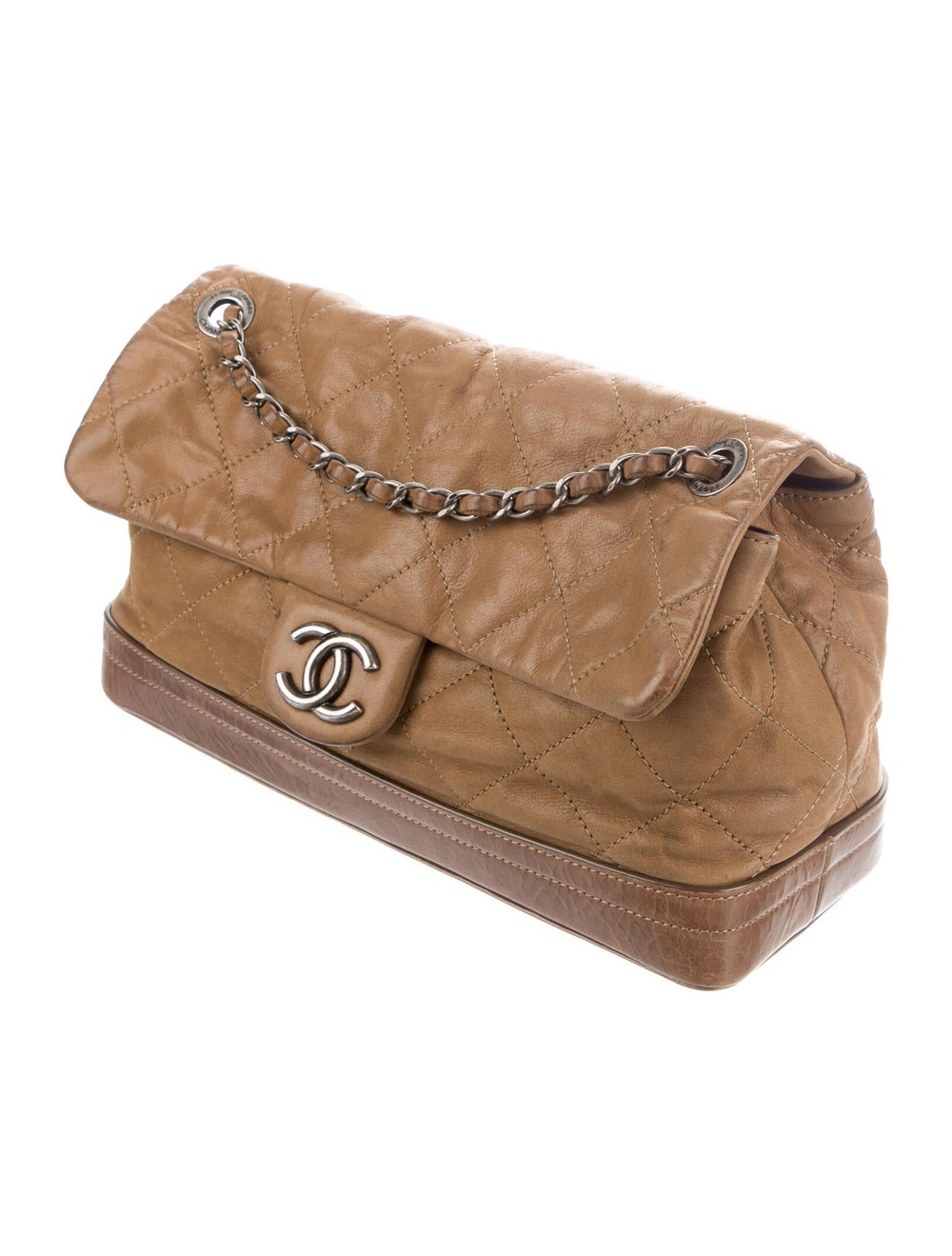 Chanel VIP Flap Bag Brown - image 3