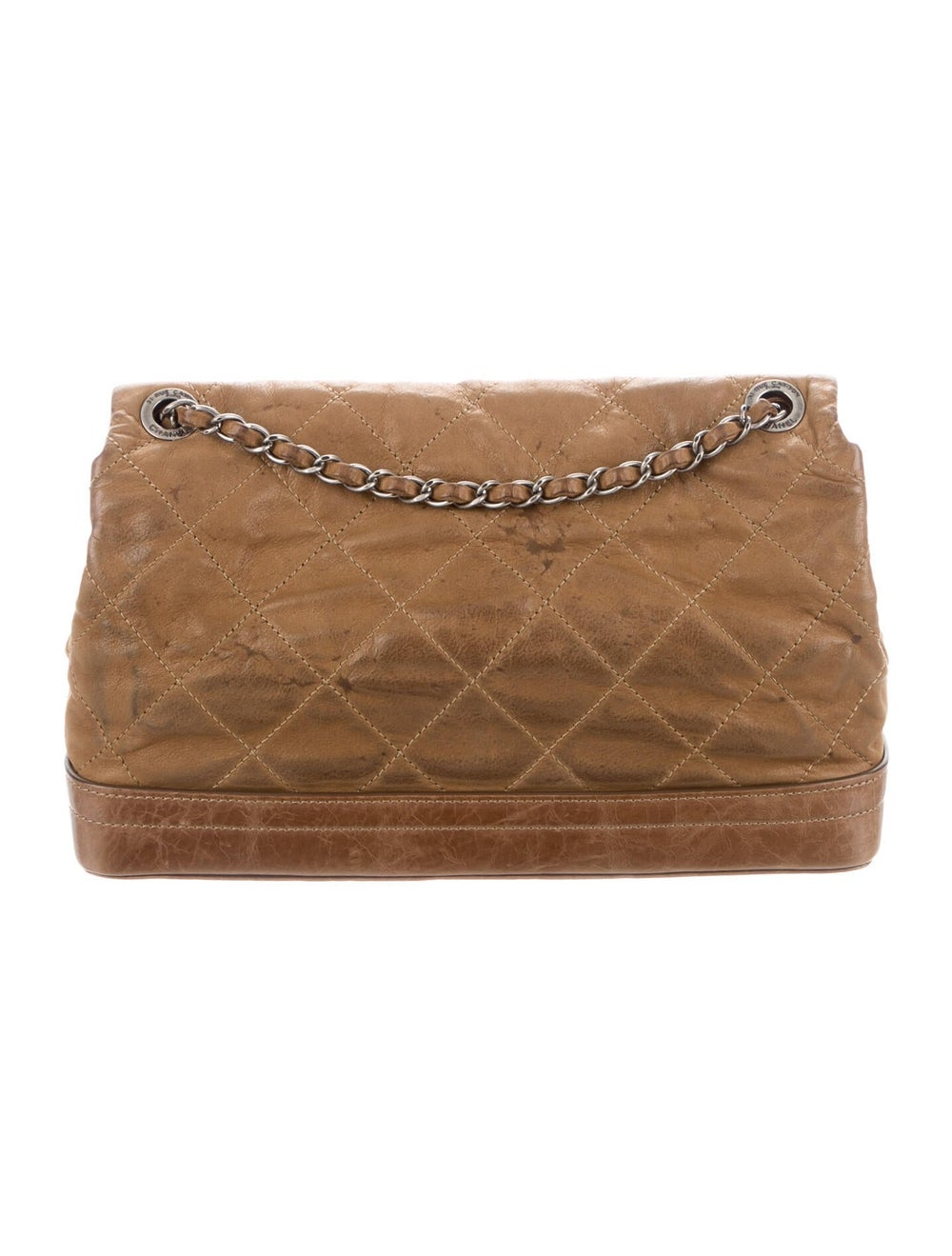 Chanel VIP Flap Bag Brown - image 4