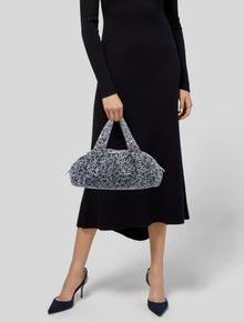 Chanel CC Canvas Bowler Bag