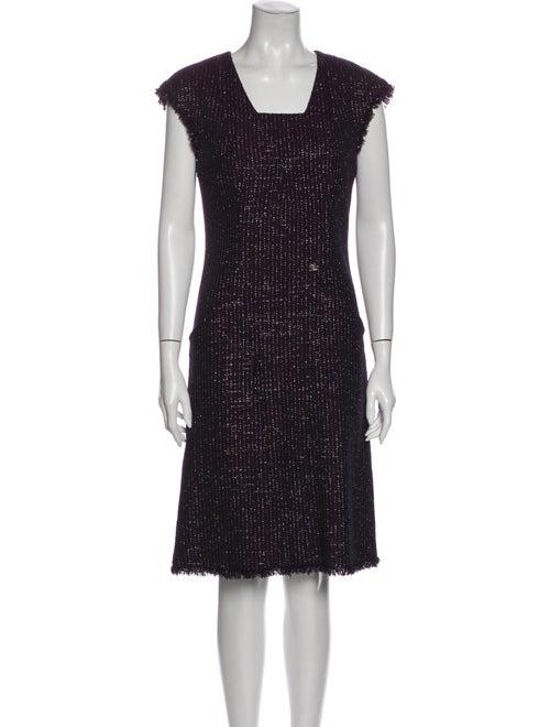 Chanel 2008 Knee-Length Dress Metallic