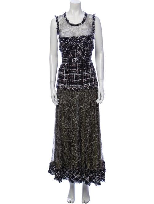 Chanel 2004 Long Dress Blue